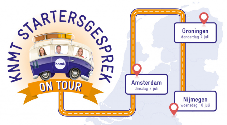 Startersgesprek on tour