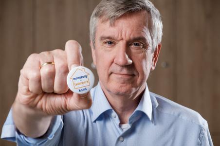 Wolter Brands Mondzorg = teamwork button actie
